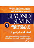 Beyond Seven Condoms Ultra Thin12pk
