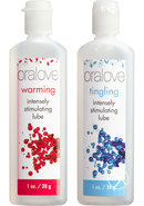 Oralove Dynamic Duo Warming/tingling Set