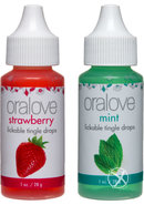 Oralove Delectable Duo Strawberry/mint