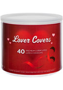 Lover Cover Mixed Condoms 40/bowl