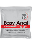 A And E Easy Anal Foil Pack 2.5ml