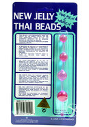 Jelly Thai Anal Beads Lavender