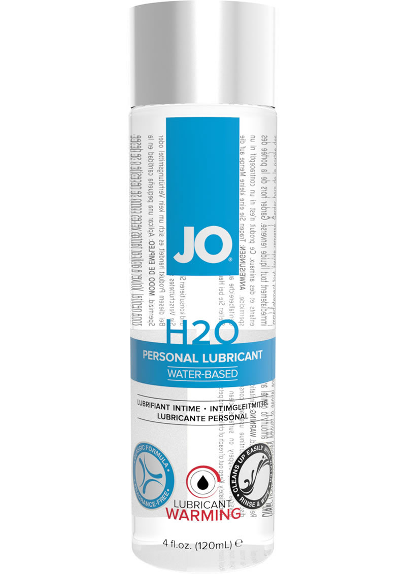 Jo H2o Lube Warming 4oz